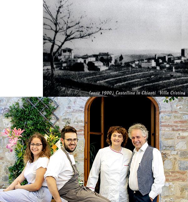 immagine storica del ristorante albergaccio